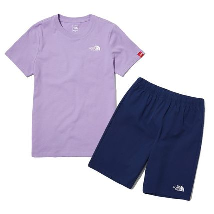 THE NORTH FACE キッズスポーツウェア ★人気★THE NORTH FACE★K'S WOVEN SHORTS LOUNGE SET★3色★(6)