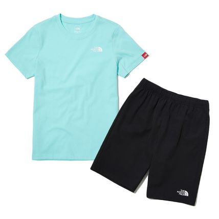 THE NORTH FACE キッズスポーツウェア ★人気★THE NORTH FACE★K'S WOVEN SHORTS LOUNGE SET★3色★(11)