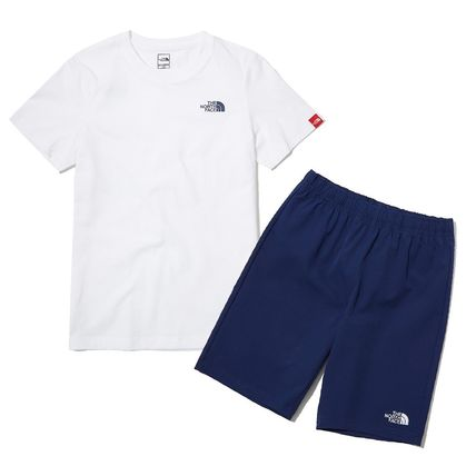 THE NORTH FACE キッズスポーツウェア ★人気★THE NORTH FACE★K'S WOVEN SHORTS LOUNGE SET★3色★(16)