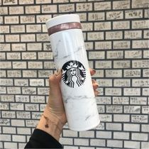 【韓国Starbucks】 jno marble white thermos  500ml タンブラー