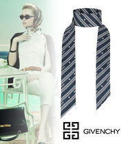 【GIVENCHY】2020SS新作*シルク GIVENCHY チェーン ヘッドバンド