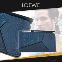 【20SS NEW】 LOEWE_men / Puzzle Coin Cardholder / インディゴ