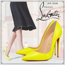 20SS新作♪直営店◆Christian Louboutin◆Kate 120mm イエロー