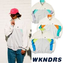 【WKNDRS】20S/S新作 CUTTED TRACK JACKET 3色 追跡あり