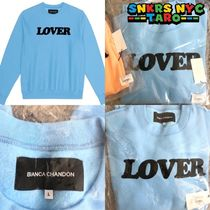 Bianca Chandon / LOVER CREWNECK PULLOVER / BABY BLUE