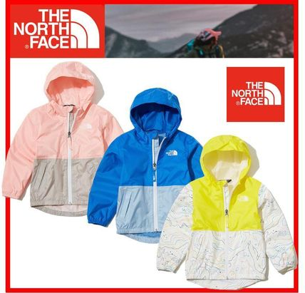 THE NORTH FACE キッズアウター ★人気★THE NORTH FACE★TODDLER ZIPLINE RAIN JACKET★3色★