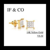 ◆海外限定◆ IF & CO. MICRO DAVIN DIAMOND EARRINGS (3色)