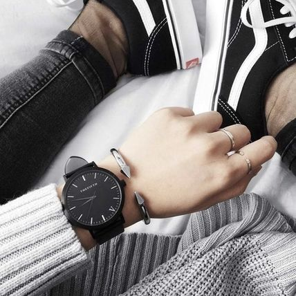 The Fifth Watches アナログ腕時計 国内発送・送料込み☆The Fifth Watches☆MELBOURNE All Black(6)