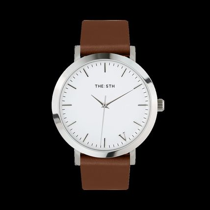 The Fifth Watches アナログ腕時計 国内発送・送料込み☆The Fifth Watches☆MELBOURNE White & Tan(2)