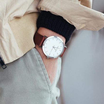 The Fifth Watches アナログ腕時計 国内発送・送料込み☆The Fifth Watches☆MELBOURNE White & Tan(5)