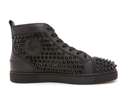 Christian Louboutin スニーカー Christian Louboutin★leather high top sneakers【EMS謝恩品】(6)
