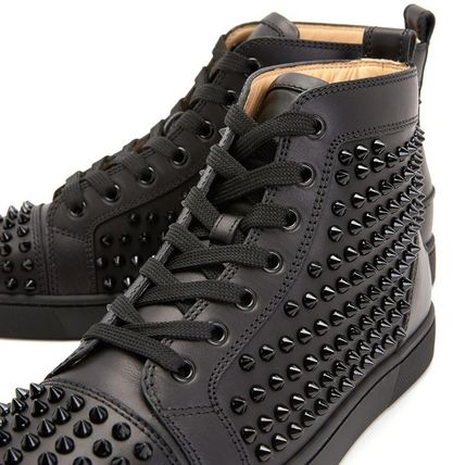 Christian Louboutin スニーカー Christian Louboutin★leather high top sneakers【EMS謝恩品】(10)