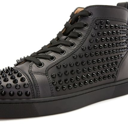 Christian Louboutin スニーカー Christian Louboutin★leather high top sneakers【EMS謝恩品】(11)