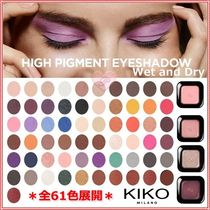 【KIKO MILANO】High Pigment Wet and Dry Eyeshadow☆61色展開