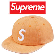 Supreme Washed Denim S Logo 6-Panel シュプリーム SS17 新品