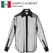 Saint laurent sheer shirt
