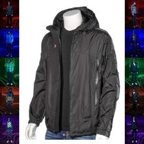 20SS 新作 MONCLER PLUIES ロゴ ナイロンパーカ ブラック
