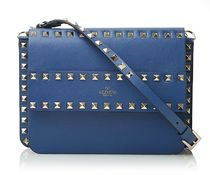 VALENTINO★rock stud  cross body blue【関税込EMS謝恩品】