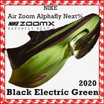 Nike Air Zoom Alphafly Next% Black Electric Green SS 20 2020