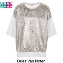 限定1点・関税込 DRIES VAN NOTEN Metallic T-shirt