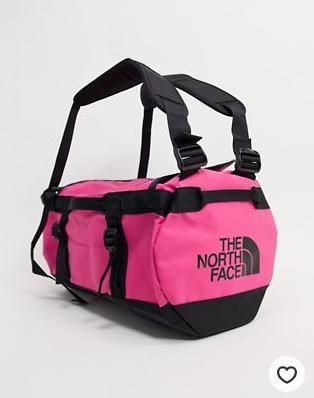 THE NORTH FACE ボストンバッグ The North Face Base Camp extra small duffel bag 31L in pink