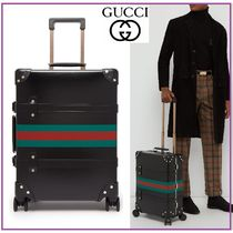 《関税込》GUCCI★Globe-Trotter Web Carry-on スーツケース