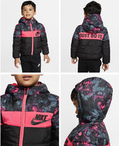 Toddler Full-Zip Puffer Jacket Nike Sportswear 2,3,4才 pink