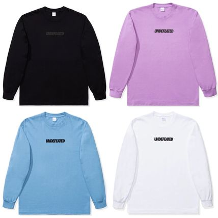 UNDEFEATED LOGO L/S TEE アンディフィーテッド