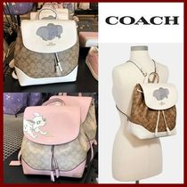 【Disney X Coach 】限定コラボ☆ELLE BACKPACK☆