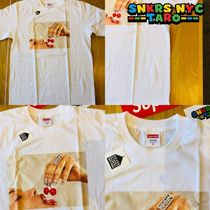 Supreme SS20 Week1 / Cherries Tee / White
