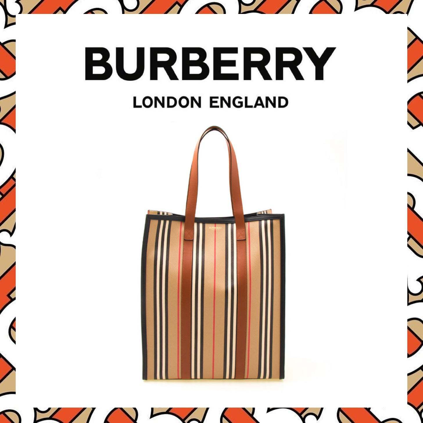 ★ BURBERRY ★ MD NS BOOK TOTE トートバッグ (Burberry/トートバッグ) 51957879