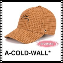 A-COLD-WALL(アコールドウォール) キャップ 【新作】【関税込み】A-COLD-WALL* ベースボールキャップ