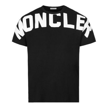MONCLER Tシャツ・カットソー 関税負担なし☆MONCLER モンクレール ビッグロゴ Tシャツ(3)