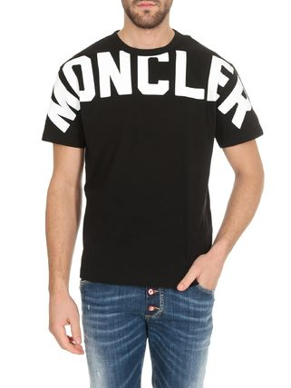 MONCLER Tシャツ・カットソー 関税負担なし☆MONCLER モンクレール ビッグロゴ Tシャツ(6)