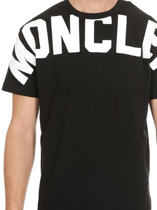 MONCLER Tシャツ・カットソー 関税負担なし☆MONCLER モンクレール ビッグロゴ Tシャツ(10)