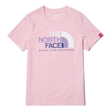 THE NORTH FACE キッズ用トップス 関税込 THE NORTH FACE★K'S MULTI COLOR BIG LOGO EX S/S R/TEE(6)