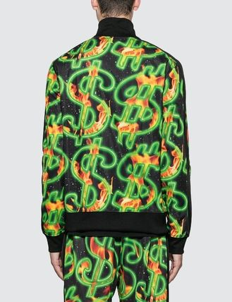 SSS WORLD CORP. ジャケットその他 [SSS WORLD CORP] Fire All Over Print Dollar Fire Track Top(4)