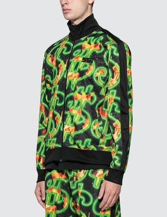 SSS WORLD CORP. ジャケットその他 [SSS WORLD CORP] Fire All Over Print Dollar Fire Track Top(3)
