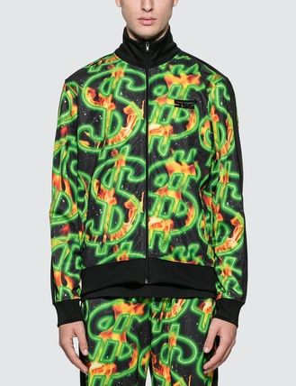 SSS WORLD CORP. ジャケットその他 [SSS WORLD CORP] Fire All Over Print Dollar Fire Track Top(2)