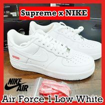 Supreme x NIKE Air Force 1 Low 'Box Logo White' SS 20 WEEK 2