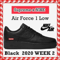 Supreme x NIKE Air Force 1 Low 'Box Logo BLACK' SS 20 WEEK 2