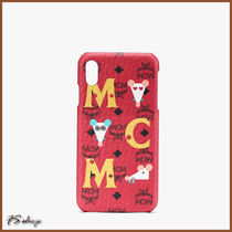 MCM正規品/EMS発送/送料込みYEAR OF THE RAT iPhone XS Max CASE