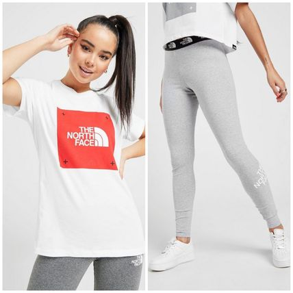 THE NORTH FACE セットアップ THE NORTH FACE  BOXロゴTシャツ&レギンス 上下セット