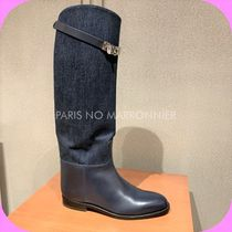 ★レア入荷★【HERMES】DENIM Jumping BOOTS