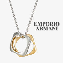"""【Emporio Armani】""""Halskette"""" silver&gold☆メンズネックレス"""