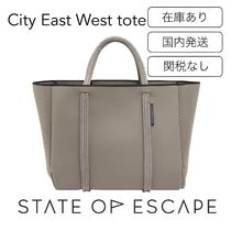 State of Escape(ステイトオブエスケープ) トートバッグ 新作 State of Escape City East West tote 男女兼用 エスケープ