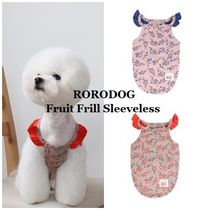 【RORODOG】Fruit Frill Sleeveless★2color★S〜XL