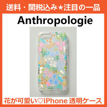 【Anthropologie】iPhoneクリアケース☆花柄☆新作☆透明