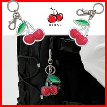 ☆韓国の人気☆【Kirsh】☆KIRSH 3D CHERRY KEY RING JS☆