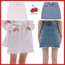 ☆韓国の人気☆【KIRSH】☆KIRSH DENIM SKIRT JS☆2色☆
